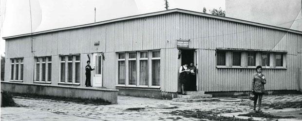 Siedziba biblioteki 1966 - Pawilon PiMBP ul. Mickiewicza
