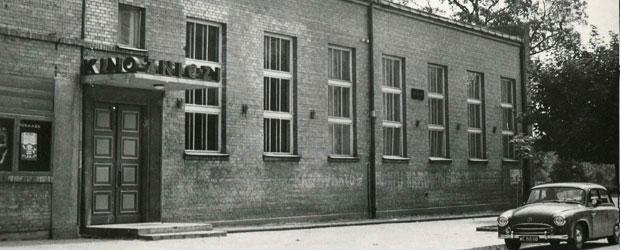"""Siedziba biblioteki 1946 - Kino """"Znicz"""" ul. 3 Maja"""