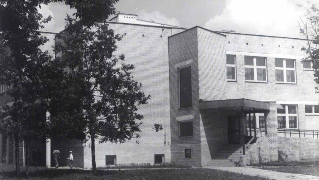 Siedziba biblioteki 1987 - nowy budynek biblioteki ul. Kazimierzowska