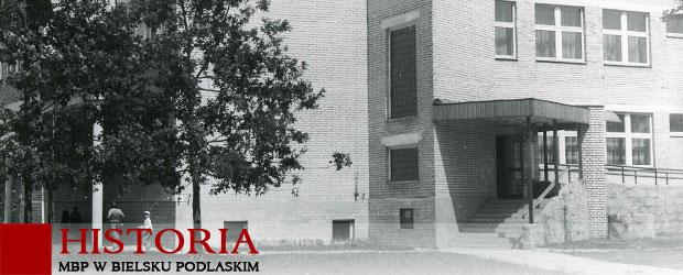 Budynek biblioteki - przed zmianą elewacji 2018