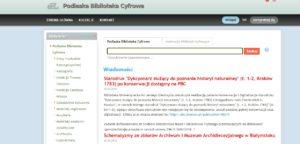 Podlaska Biblioteka Cyfrowa9(link)