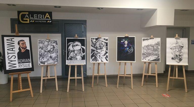 Wystawa prac Adriana Bieniasa