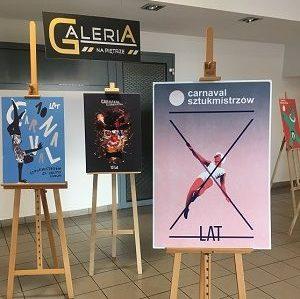 Wystawa plakatu cyrkowego na 10-lecie Carnavalu Sztukmistrzów
