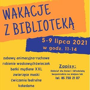 """""""Wakacje z biblioteką"""""""