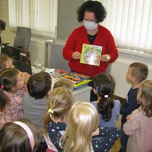 Gościliśmy 4-latków z Katolickiego Niepublicznego Przedszkola Karmelki